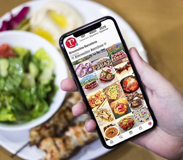 donde hacer publicidad en canal instagram cocina alimentación restaurantes